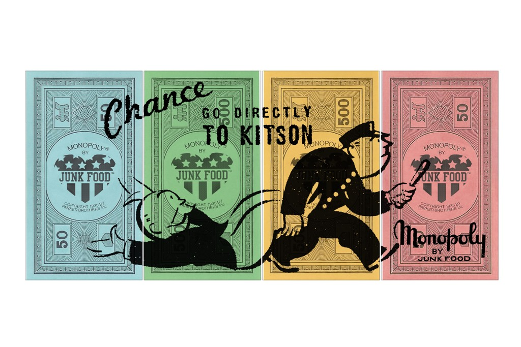 A Junk Food Monopoly design for Kitson.