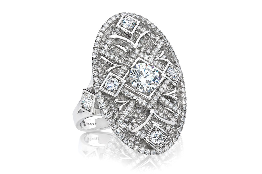 A ring from Ivanka Trump's sustainable diamond collection.