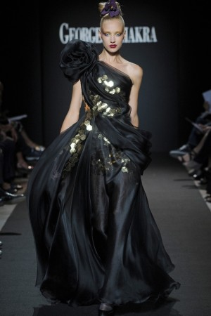 A Georges Chakra creation for autumn-winter 2011/2012.