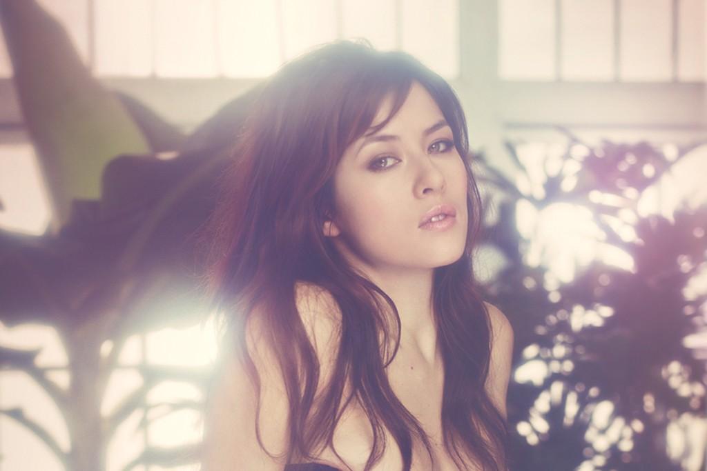 Agent Provocateur's spring ad campaign features French actress Mylène Jampanoï.