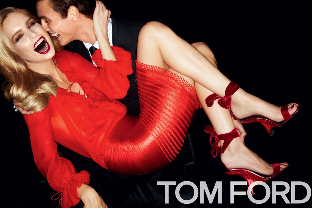 Tom Ford photographed his own spring campaign.