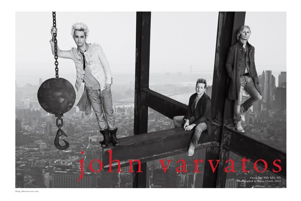 Green Day for John Varvatos.