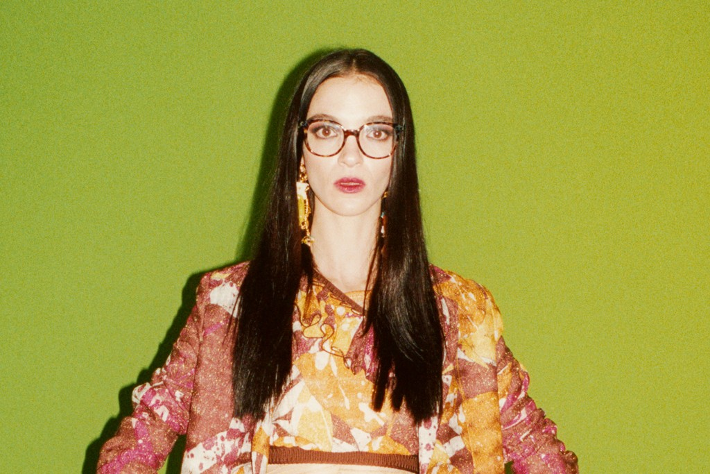 An image from the Missoni campaign.