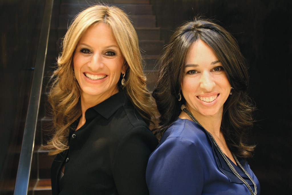 Denise Albert and Melissa Gerstein, founders of The Moms.
