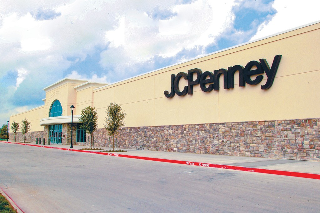 Exterior of a J.C. Penney store