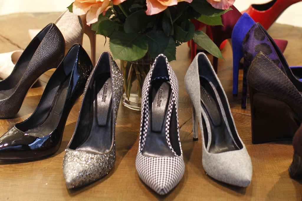 Pumps from Roy's fall collection.