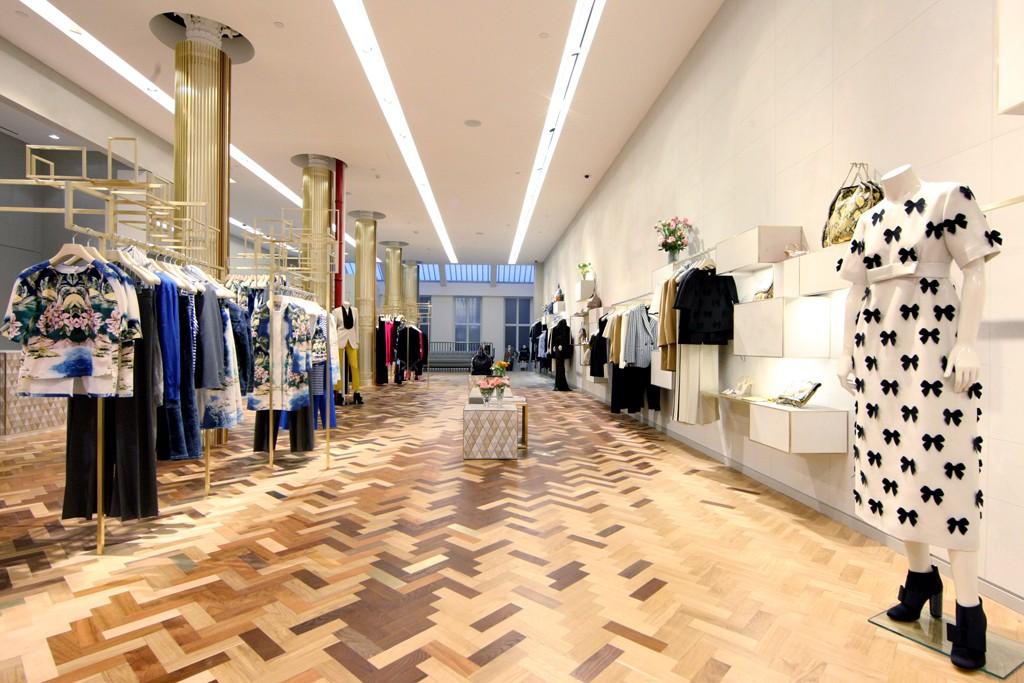 Inside the Stella McCartney SoHo store.