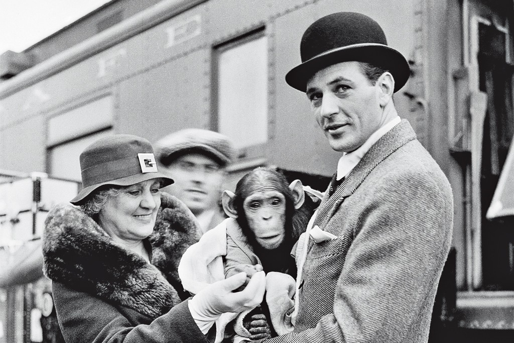 """Image of Gary Cooper from the book, """"Gary Cooper: Enduring Style""""."""