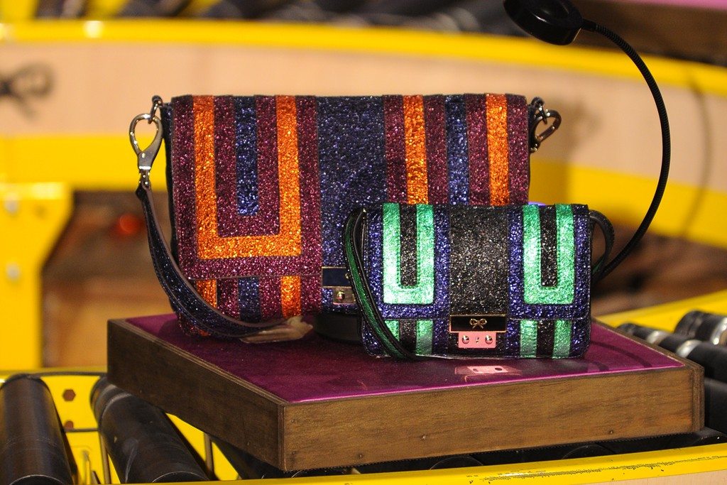 Anya Hindmarch's festive bags.