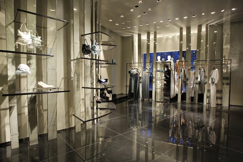 The Giorgio Armani boutique in Berlin.