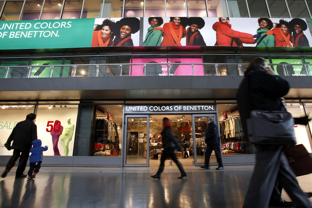 A United Colors of Benetton store.