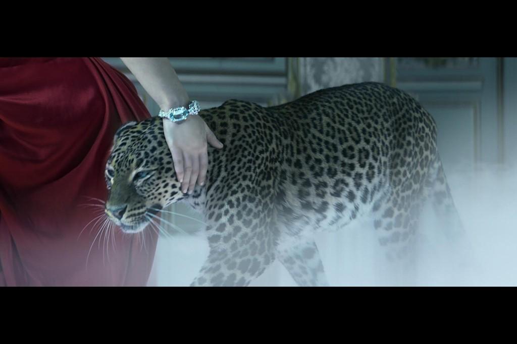 "A still from the Cartier advertisement ""The Cartier Odyssey."""
