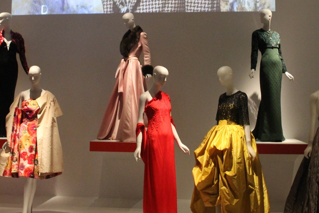 Women's wear looks include many iconic pieces from designers.
