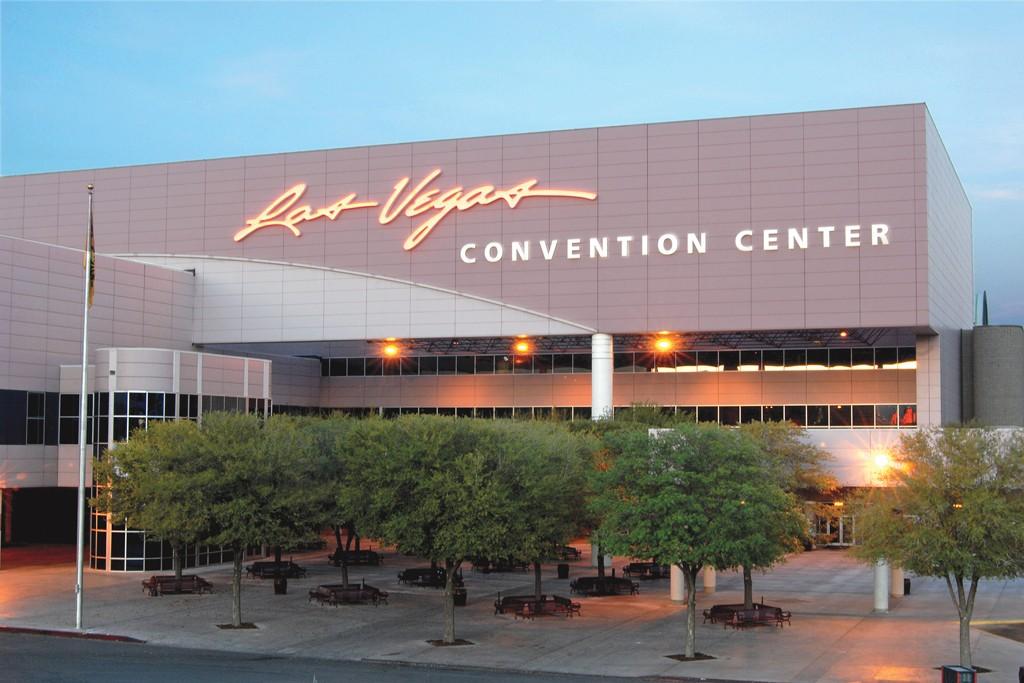 The Las Vegas Convention Center.