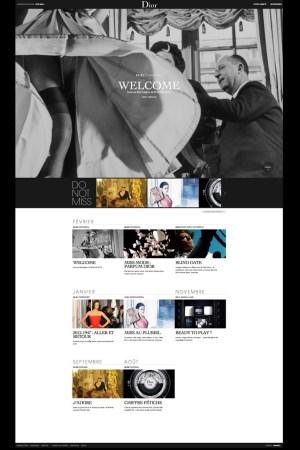 Dior's new online magazine.