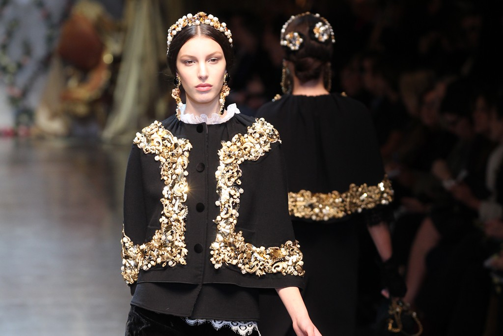 Dolce & Gabbana RTW Fall 2012