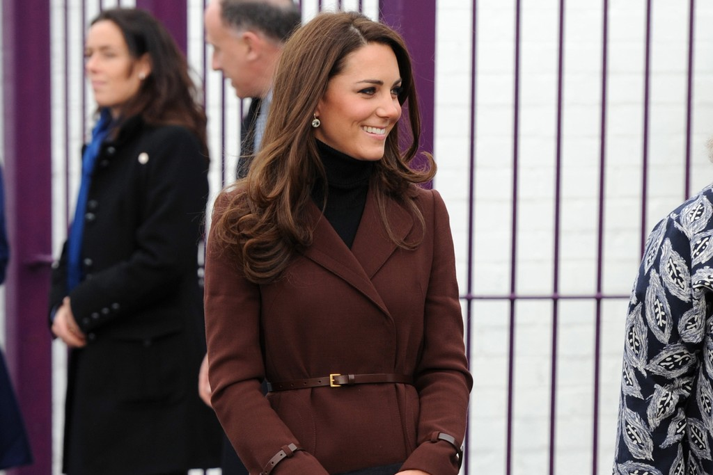 The Duchess of Cambridge in Liverpool.