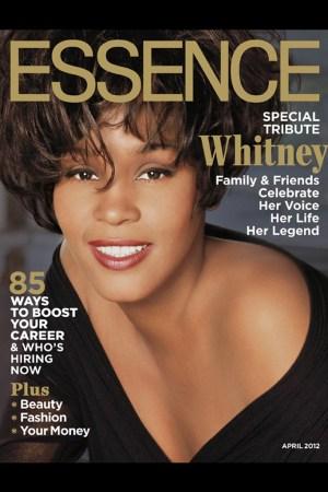 Whitney Houston on the cover of Essence magazine.