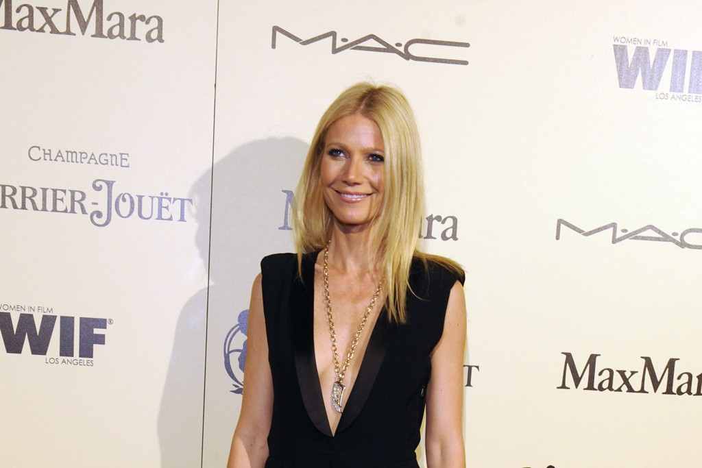 Gwyneth Paltrow in Band of Outsiders at Women in Film.