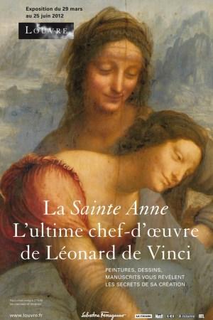 The Leonardo da Vinci exhibition poster.