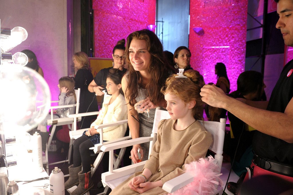 Brooke Shields and her daughter Grier.