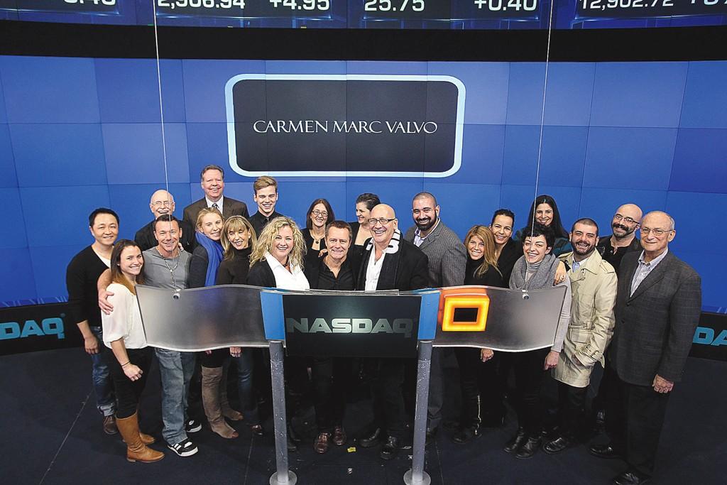 Carmen Marc Valvo and his staff.