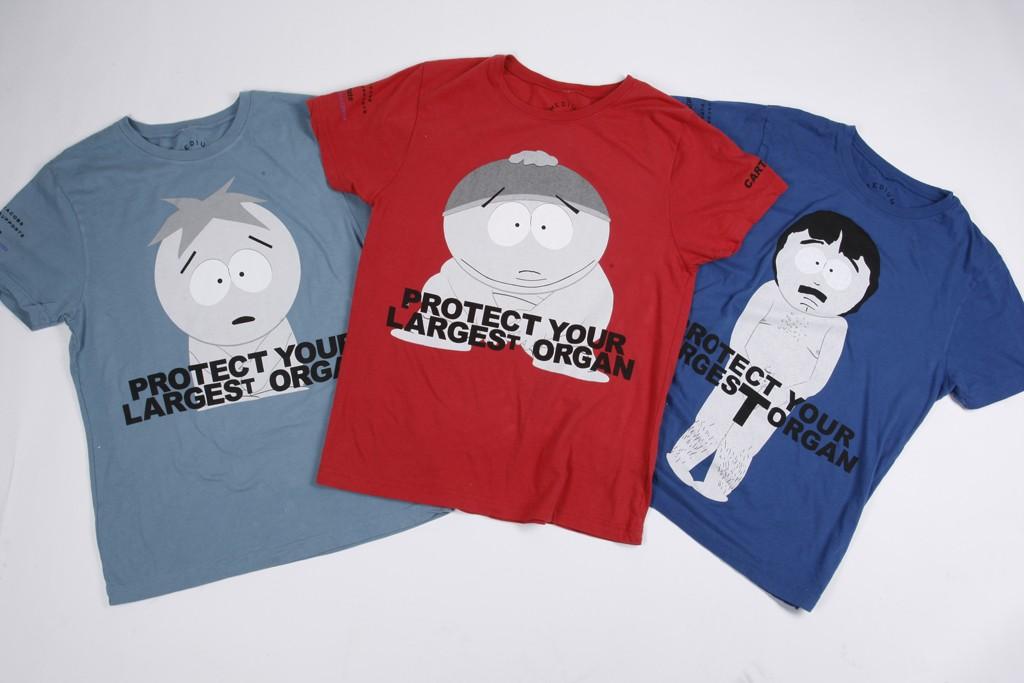 """Marc Jacobs' """"South Park"""" T-shirts."""