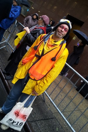 Justin Stone-Diaz of Occupy Wall Street.