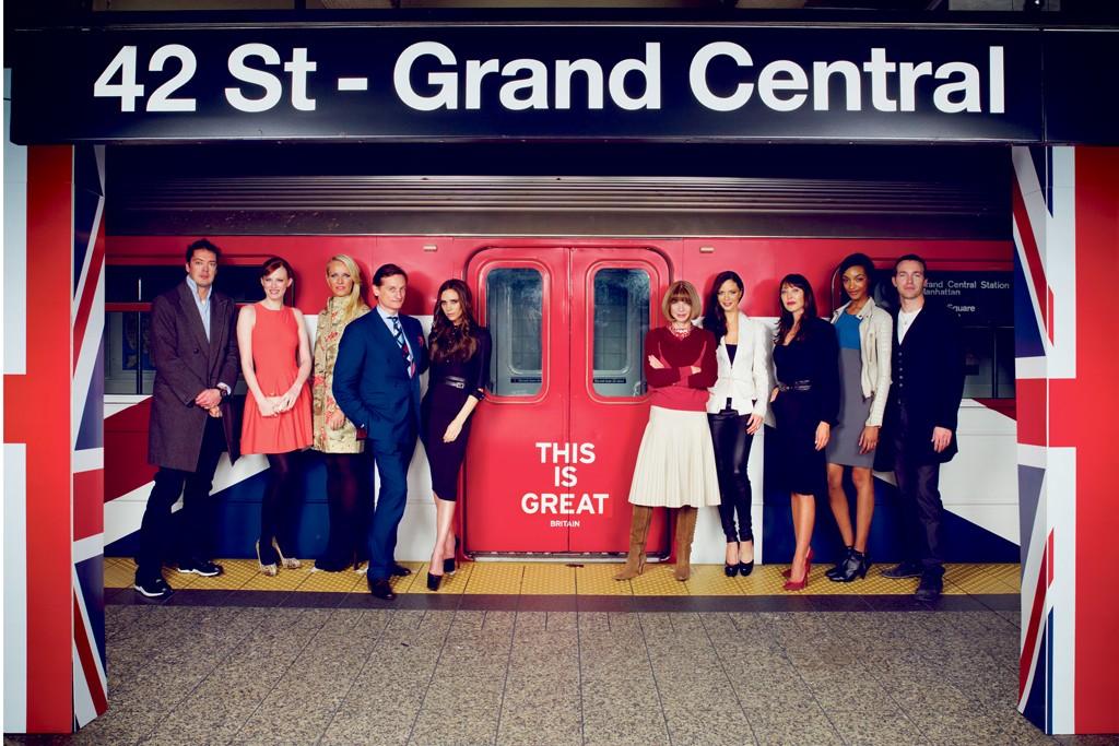 Celebrating British talent at Grand Central.