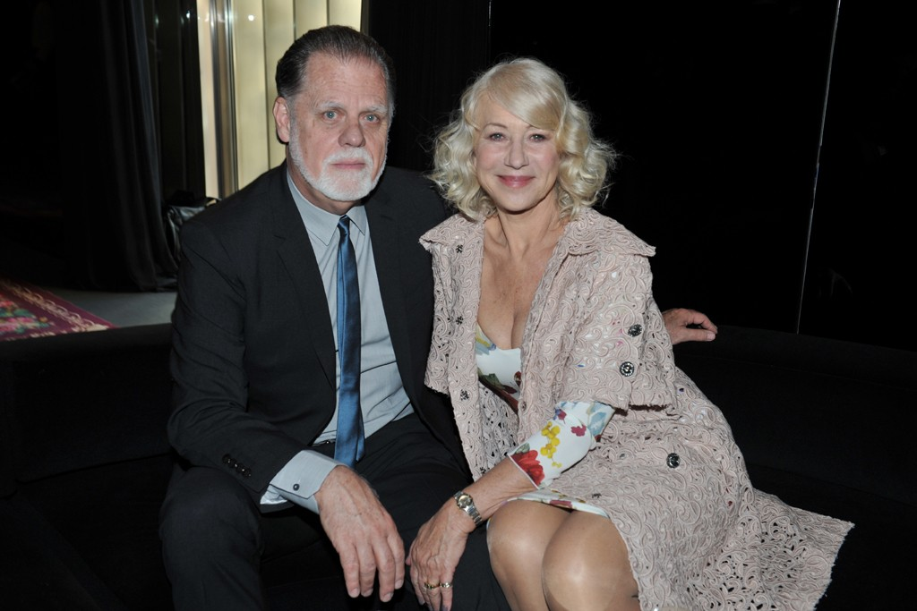 Helen Mirren and her husband, Taylor Edwin Hackford