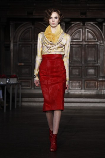 L'Wren Scott RTW Fall 2012