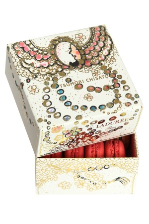 The Ladurée macaron box designed by Tsumori Chisato.