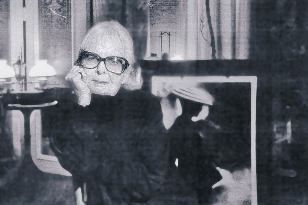 Lillian Bassman in her Upper East Side home.