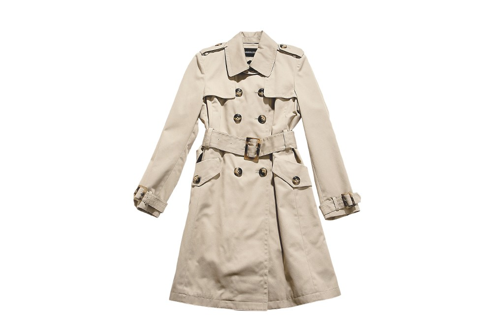 A trench coat by London Fog.