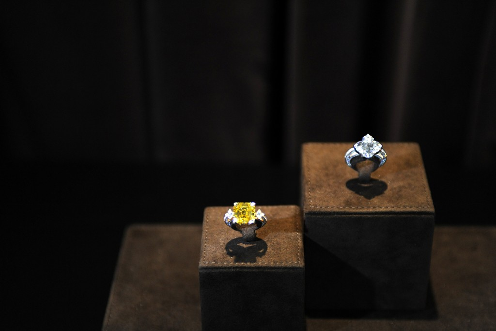 Items from Louis Vuitton's L'Ame du Voyage fine jewelry collection.
