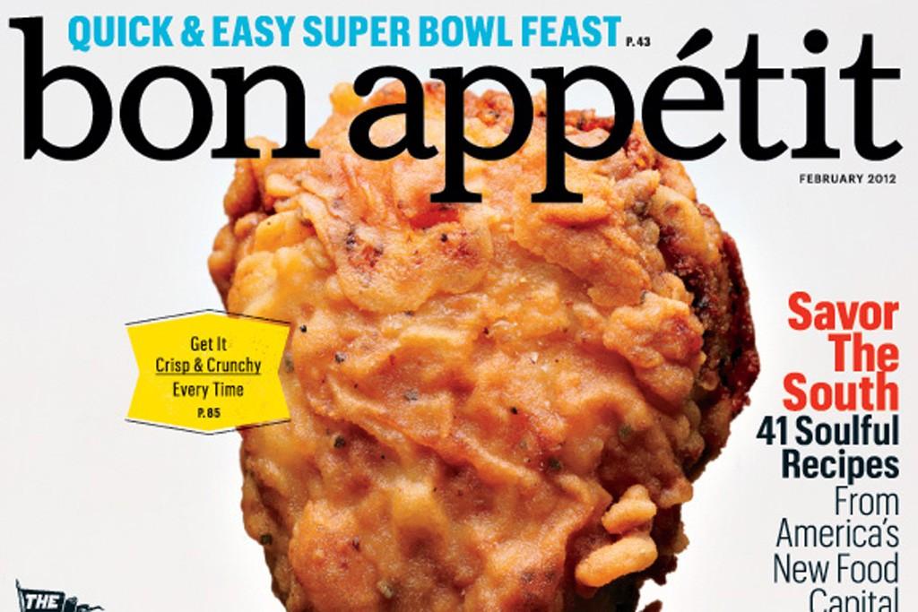 The cover of Bon Appétit.
