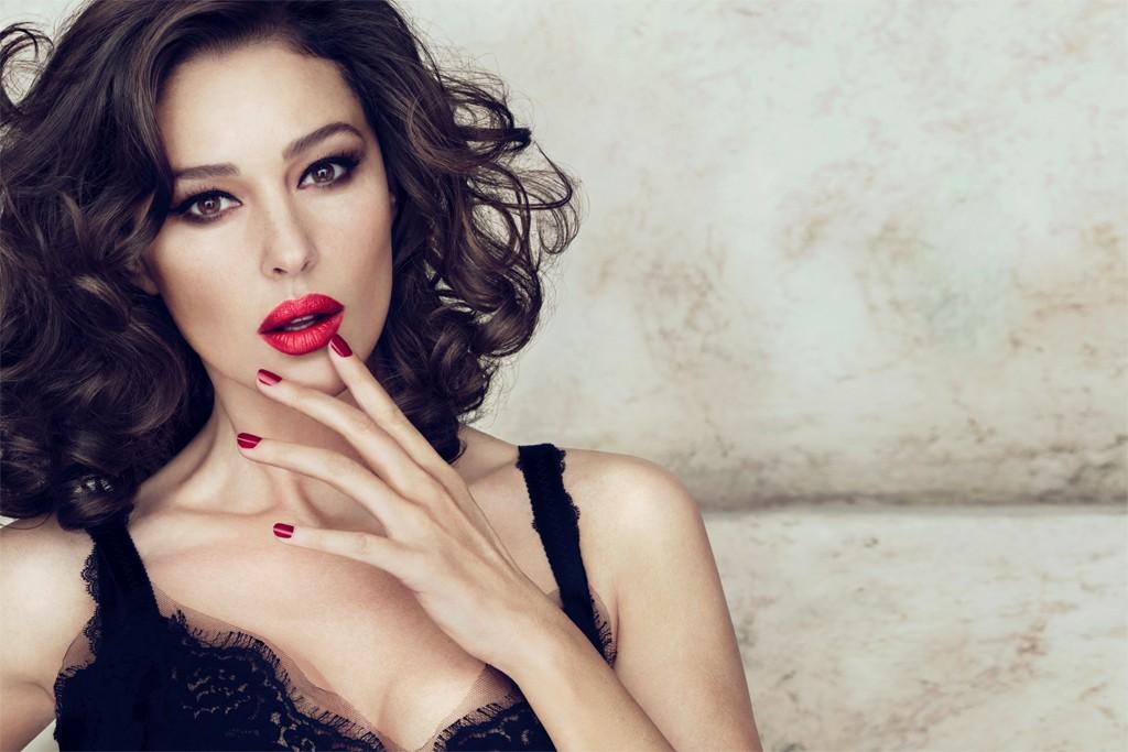 A visual of Monica Bellucci for Dolce & Gabbana.
