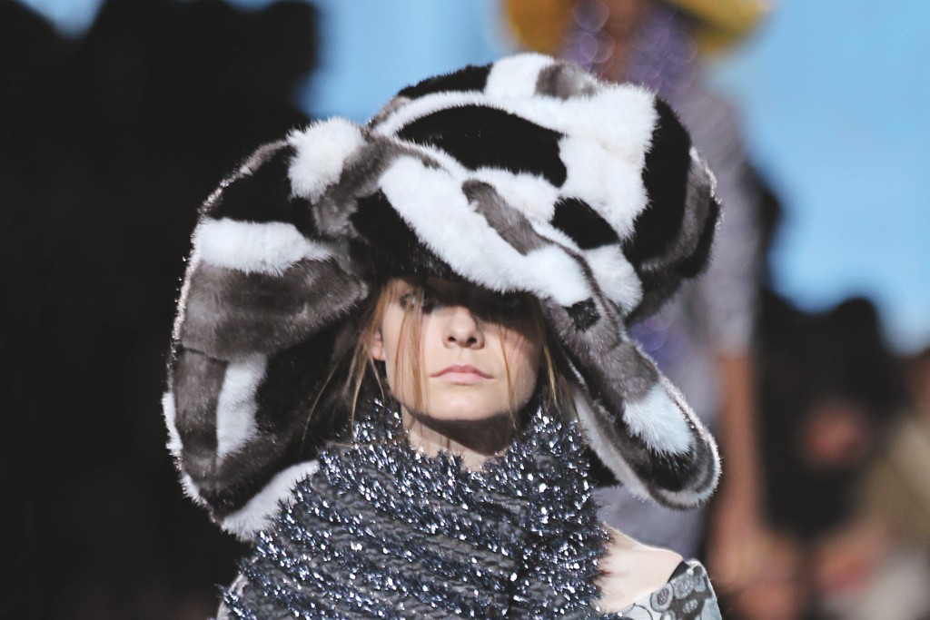 A lookl from Marc Jacobs RTW Fall 2012