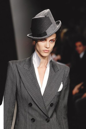 A look from Donna Karan  RTW Fall 2012