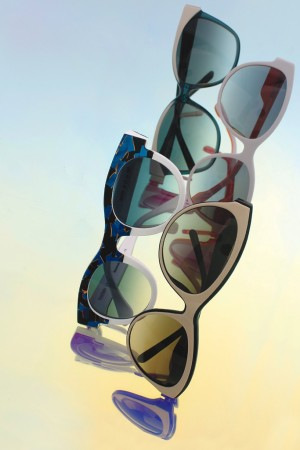 From left to right clockwise: Esprit, Diesel, Just Cavalli, and Thierry Lasry.