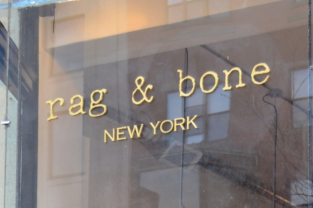 A look at the Rag & Bone store.