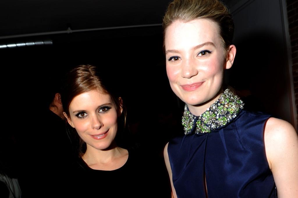 Kate Mara and Mia Wasikowska