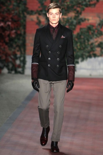 Tommy Hilfiger Men's RTW Fall 2012