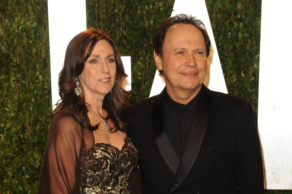 Janice and Billy Crystal in Giorgio Armani