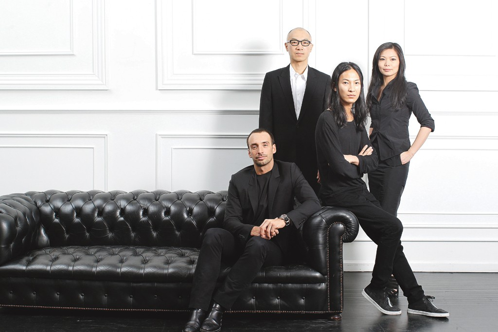 Rodrigo Bazan, Dennis Wang, Alexander Wang, and Aimie Wang.