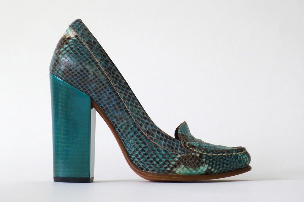 """Bernardo's """"Lola"""" shoe."""