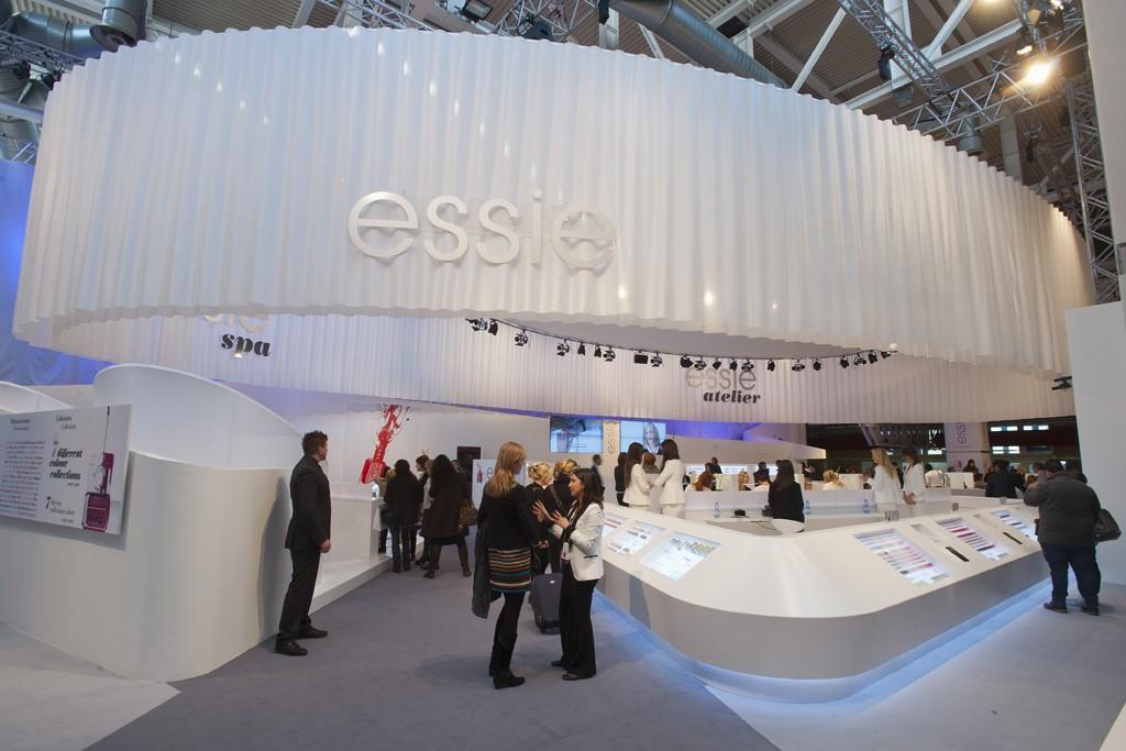 Essie cosmetics.