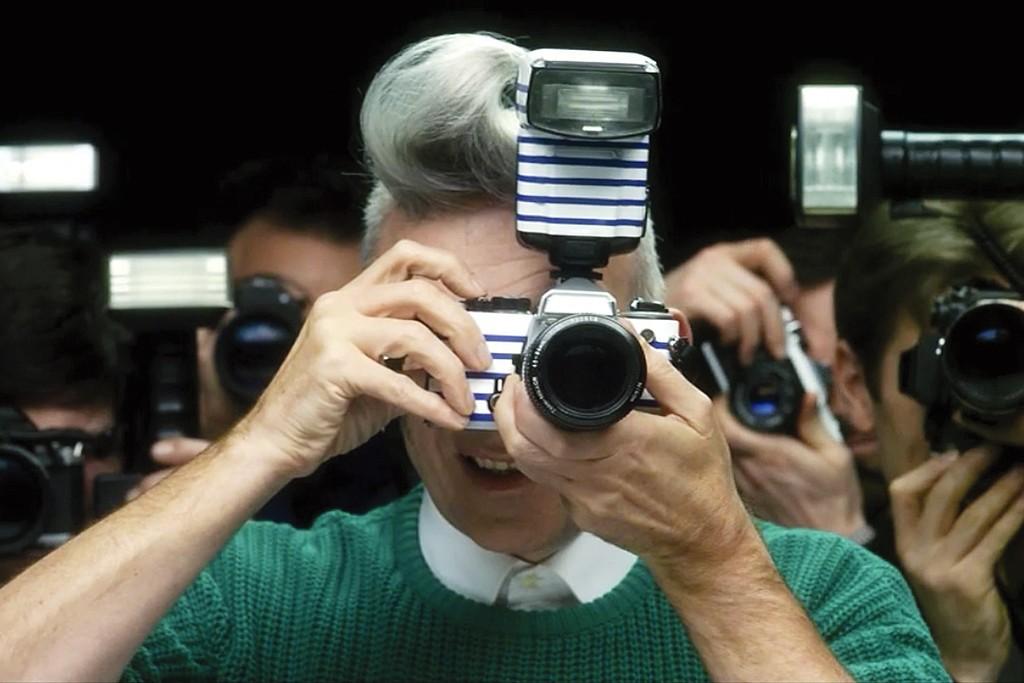 Jean Paul Gaultier in an online film for Diet Coke.