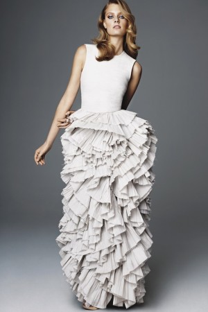A dress from H&M's Exclusive Glamour Conscious Collection.