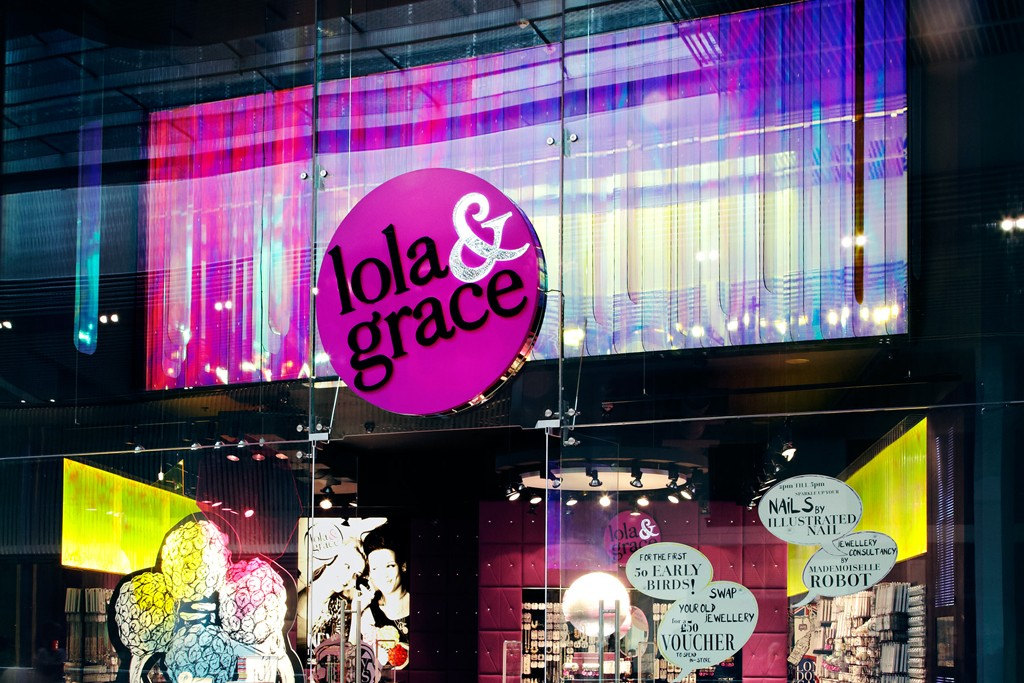 The lola&grace store in London